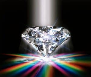 The beauty seen in diamonds has value at North Phoenix Pawn